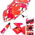 【女性用】出張人にはありがたい便利な自動開閉式折りたたみ傘