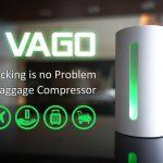 衣類でかさばるスーツケースの中身がスッキリと!? 超小型衣類圧縮マシン『VAGO』